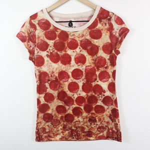 [JERRY LEIGH] Kids Cheesy Pepperoni Pizza Tee